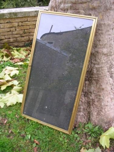Ancienne vitrine d'affichage