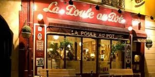 Restaurant La poule au pot Paris