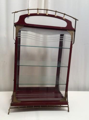 Ancienne vitrine d'épicerie