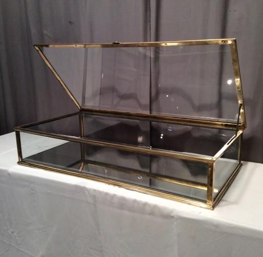 Ancienne vitrine plate de comptoir.(vendue)