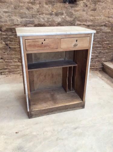 Ancienne caisse de magasin.