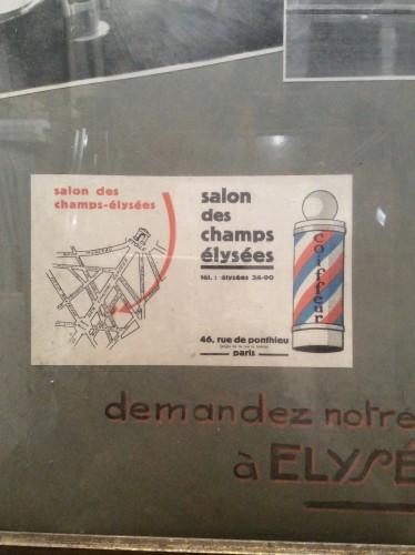 Panneau publicitaire ancien