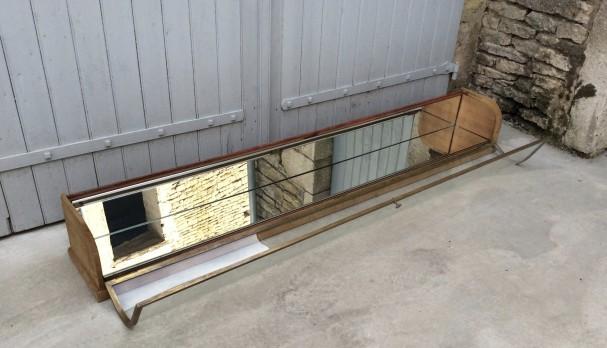 Ancienne vitrine de comptoir de magasin