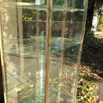 Ancienne vitrine de magasin.(vendue)